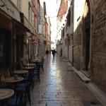 Gasse in der Altstadt von Zadar