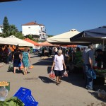Foto: Markttag in Petalidi