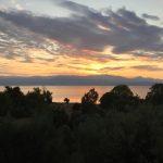 Sonnenaufgang über Taygetosgebirge