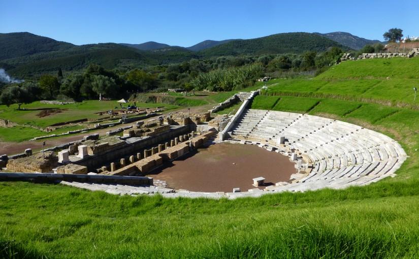 Ausflug zu den archäologischen Stätten des alten Messini