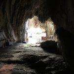 Foto: Blick aus der Höhle