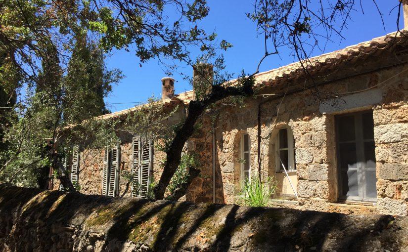 Das Haus von Patrick Leigh Fermor in Kalamitsi