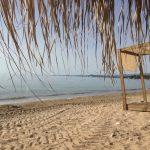 Caribbean Beach, Blick nach Koroni