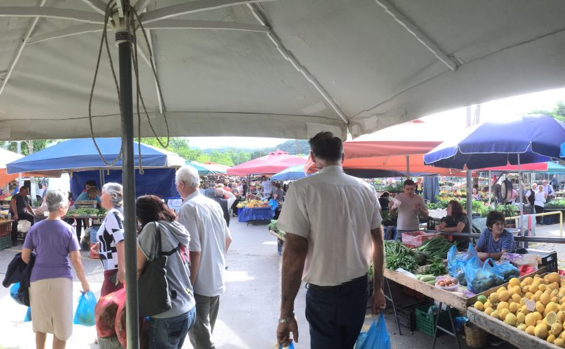 Samstag ist Markttag in Kalamata