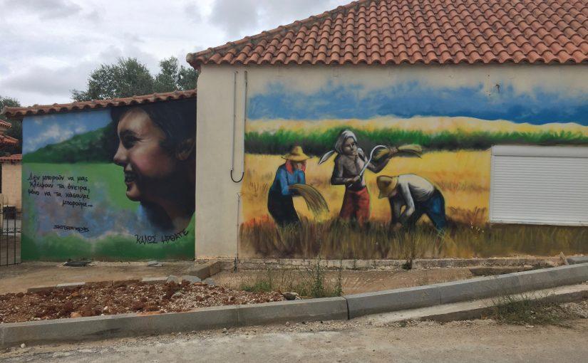 Das Graffitidorf Glyfada