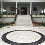 Aussenaufnahme Museum in Chora